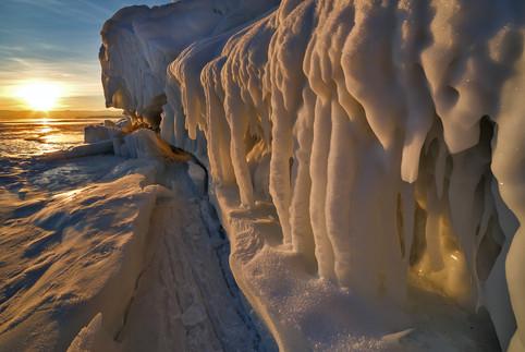 Наплески на мысе Уюга, Малое Море, Байкал