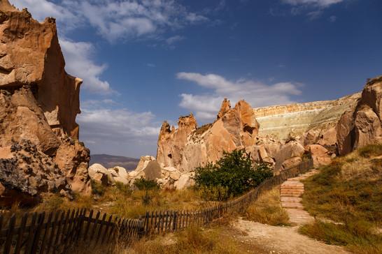 Открытый музей Зелве, Каппадокия
