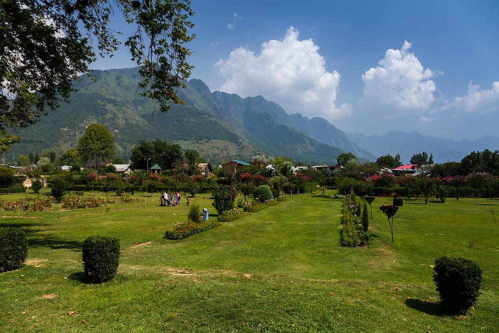 Сад Шалимар, Шринагар, Кашмир, Индия