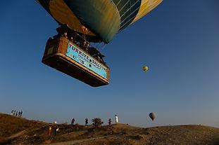 Полёт воздушных шаров в Каппадокии