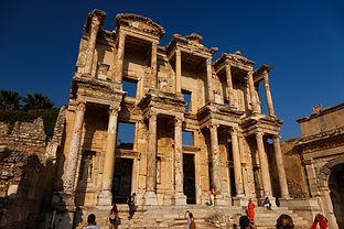 Развалины древнегреческого города Эфес в Турции