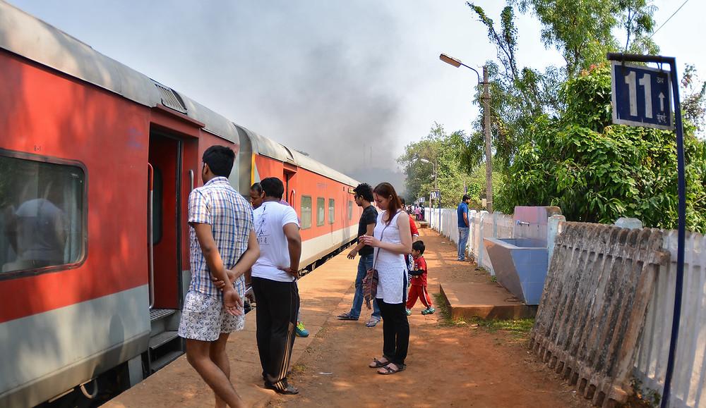 По пути в Гоа из Дели на поезде