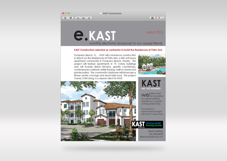 Kast Construction Newsletter