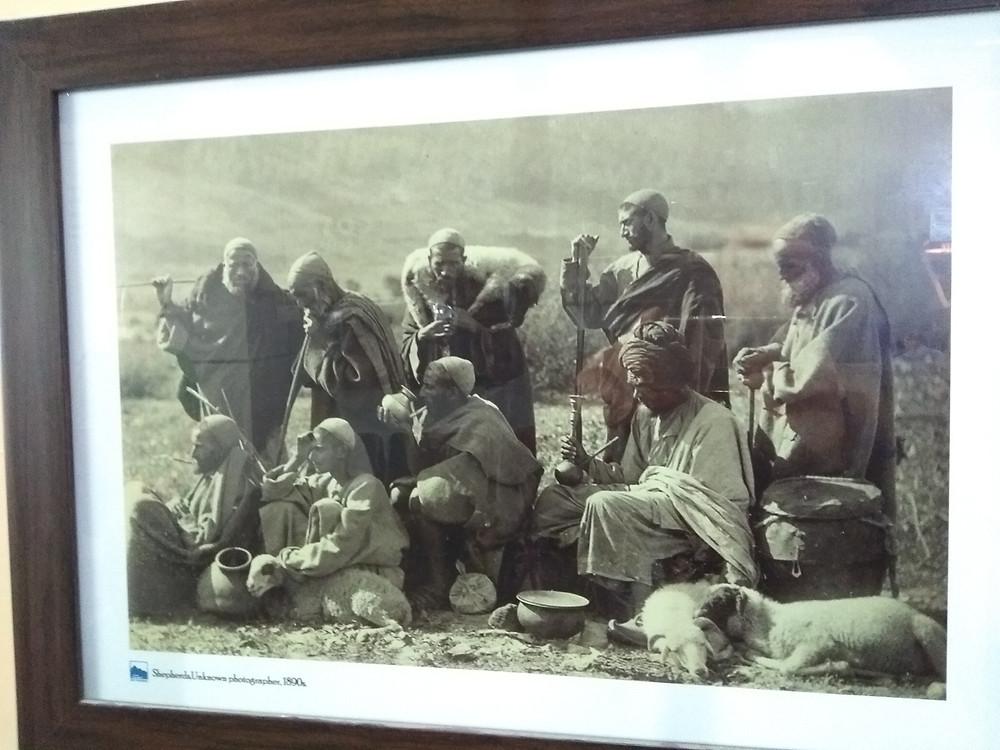 Старое фото Кашмира в аэропорту Шринагара