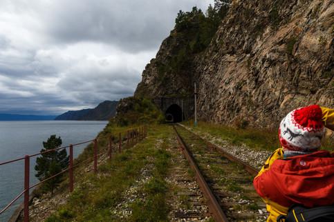 Кругобайкальская железная дорога в сентя