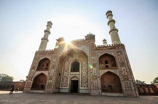 Музейный комплекс гробница Акбара, Агра, Индия