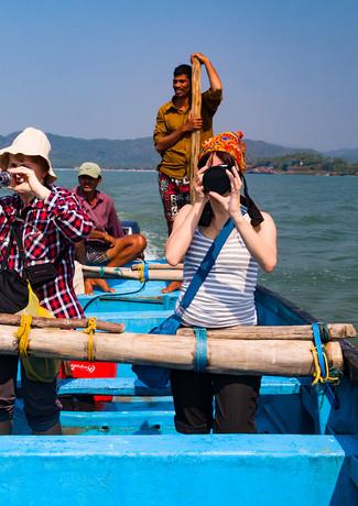 Прогулка на лодке на Гоа