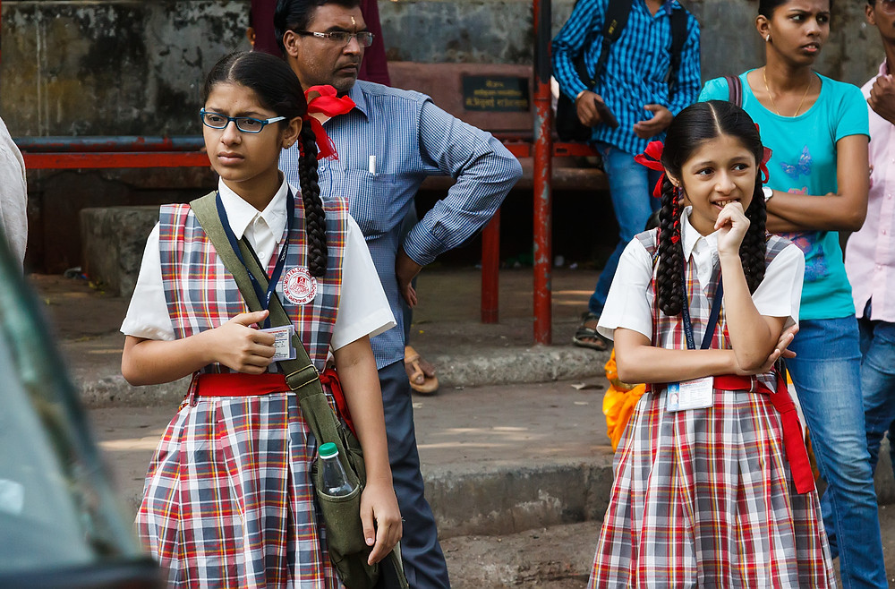 Школьницы Мумбая