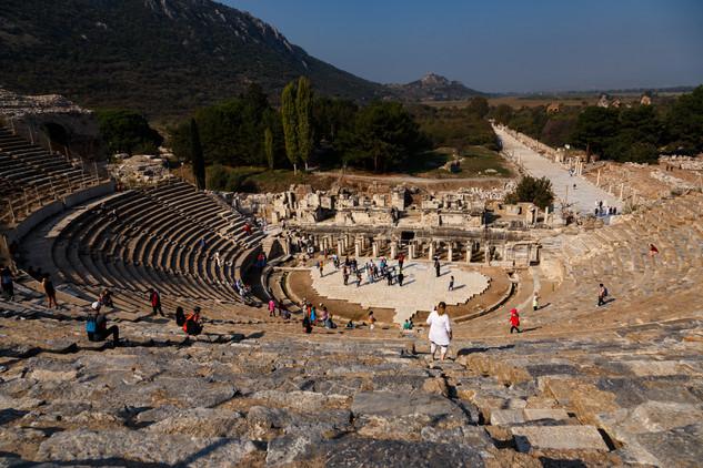 Эфес, Селчук. Амфитеатр