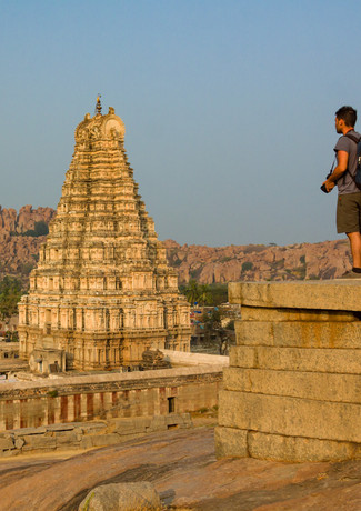 Храмовые комплексы в Хампи, Карнатака, Индия