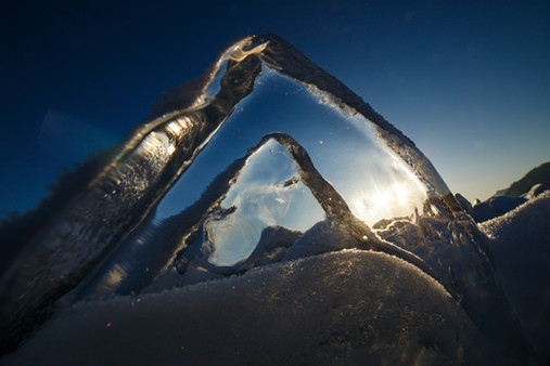 Байкальская льдинка