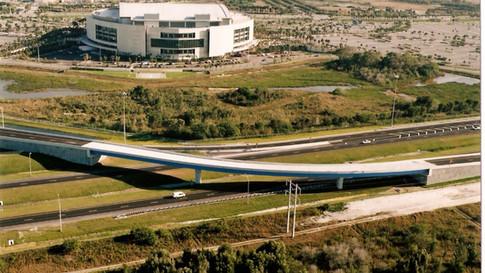 Panthers Arena Overpass
