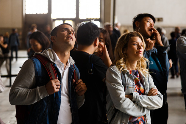 В Соборе Святой Софии, Стамбул