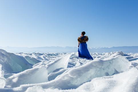 Галина во льдах