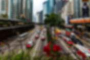 Улица Гонконга в районе ВанЧай