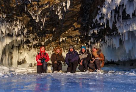 Группа фототура с Евгенией Станевич на Малое Море в феврале 2019
