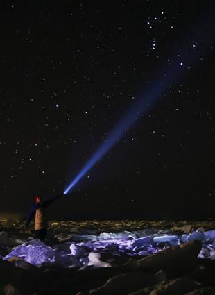Ночной джедай. Фото Марины Боровских