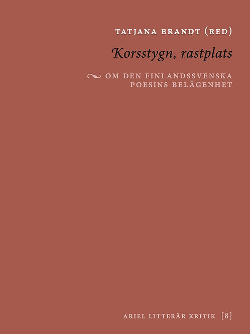 Tatjana Brandt (red) | Korsstygn, rastplats