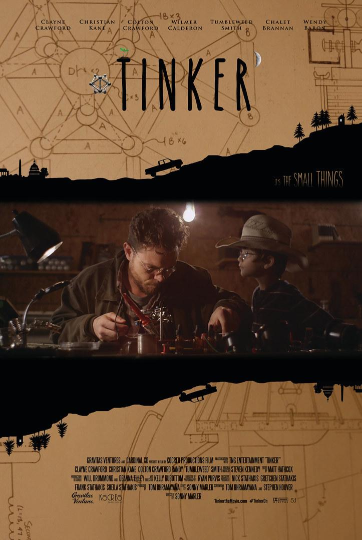 8-11-2018 Tinker Poster Cowboy hat jack