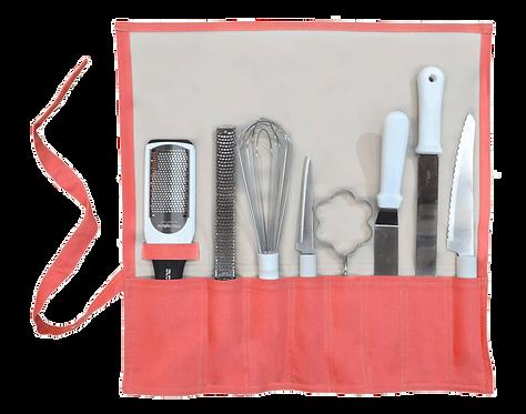 Estuche de utensilios 8 piezas
