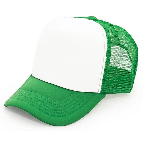 Gorro Trucker verde