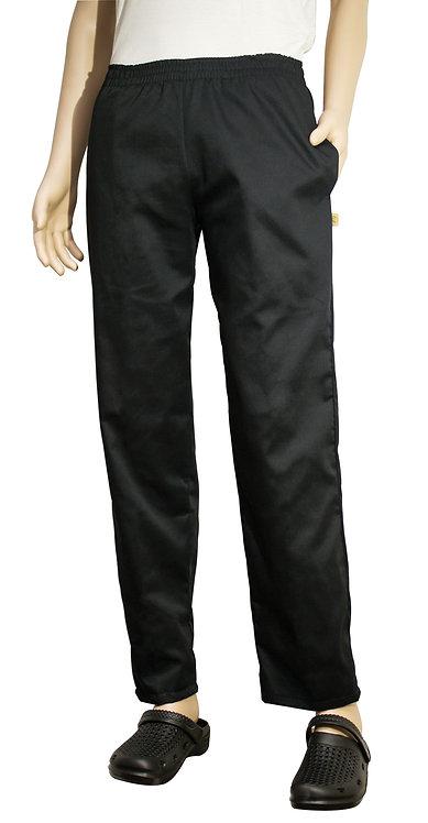 Vista frontal pantalon negro