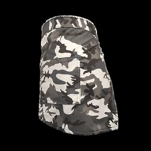 Delantal cortito camuflado