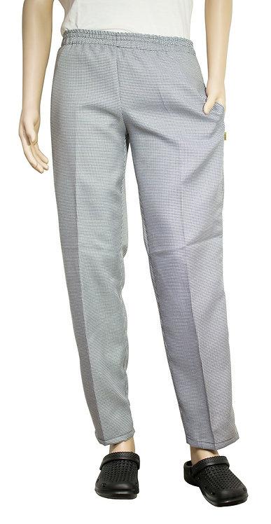 Vista frontal pantalon pie de pull