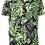 Thumbnail: Camisa estampada modelo HOJAS NEGRAS