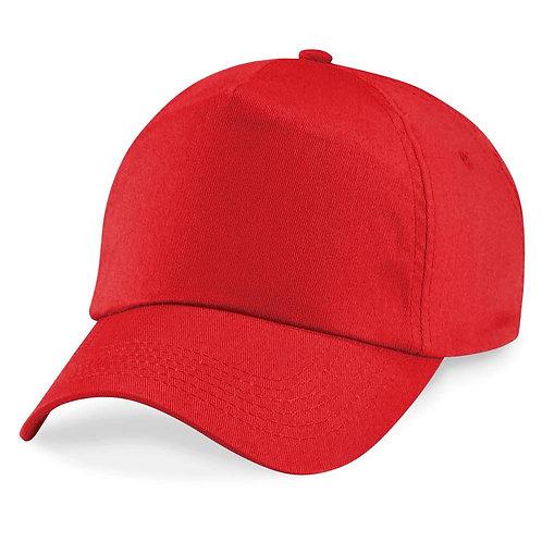 Gorro Beisbol Deluxe rojo