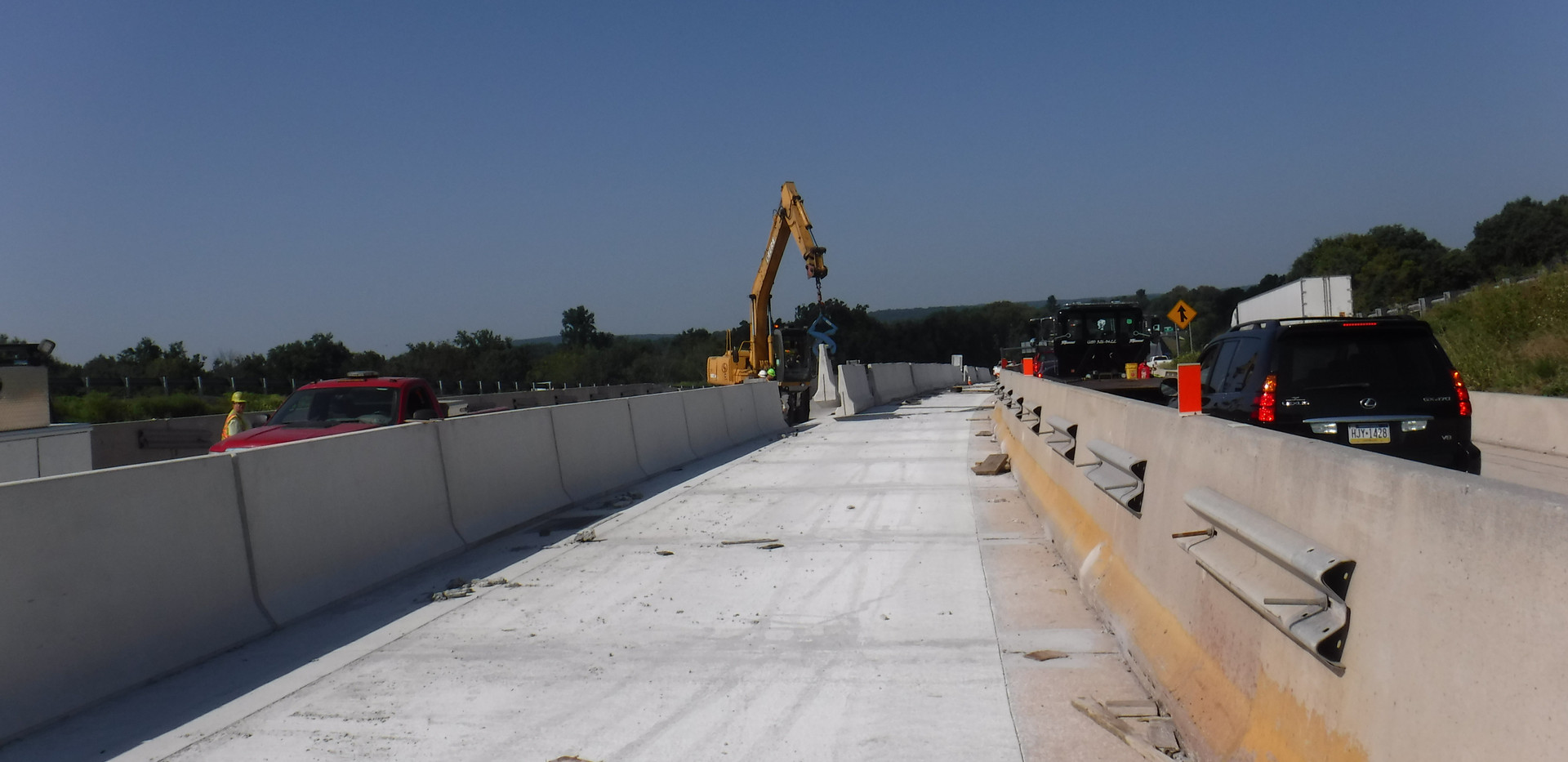 M1A - Installation of new concrete media