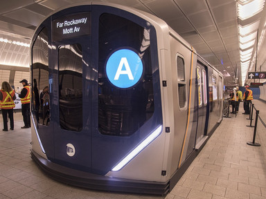 Look Inside New York City's Next-Generation Subway Cars - Architectural Digest