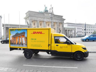 DHL electric trucks to filter air for brake/tire dust emissions too - Treehugger