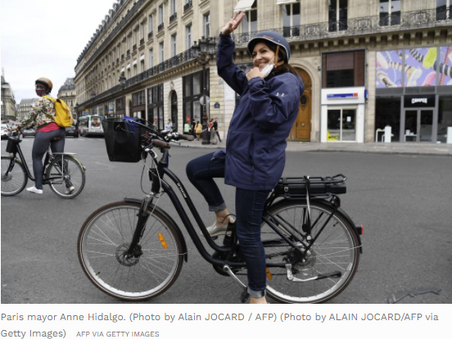 Paris Mayor: 'Forget Crossing Through The City By Car' - Forbes