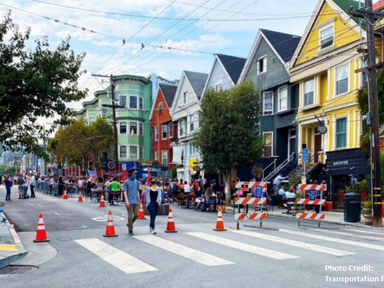 COVID-19 threw a curveball at curb management. Here's how cities adapted- Transportation for America