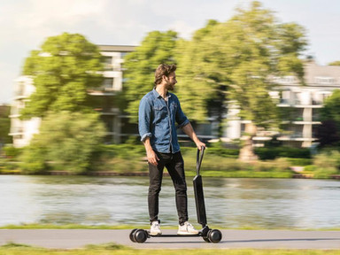 Audi Takes On The Urban Electric Scooter Trend With The E-Tron Scooter - Forbes