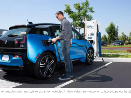 Uber, Lyft Have To Transition To Electric Vehicles In California - Forbes