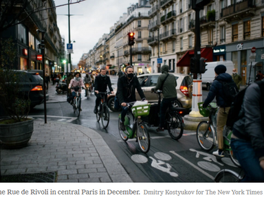 If You Build It, They Will Bike: Pop-Up  Lanes Increased Cycling During Pandemic - NY Times