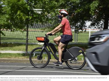 Capital Bikeshare e-bikes return as region promotes cycling amid pandemic - The Washington Post