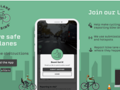 The new Bike Lane Uprising app makes it easier than ever to report bikeway obstructions -Streetsblog
