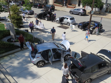 Montco Takes Part in National Drive Electric Week with Electric Vehicle Car Show