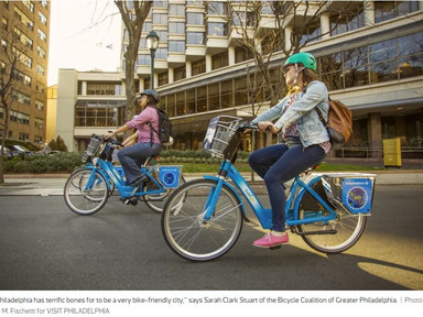 A Q&A with Sarah Clark Stuart, Philly's biggest bicycling advocate - Curbed