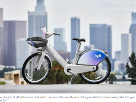 Lyft's New E-Bike Aims to Conquer the Post-Pandemic City - CityLab
