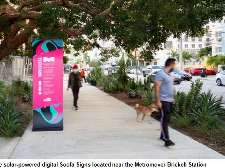 Miami deploys informational signs to enhance public transportation experience - SmartCitiesWorld