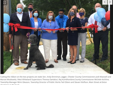 Chester Valley Trail improvement unveiled in Exton - Daily Local News