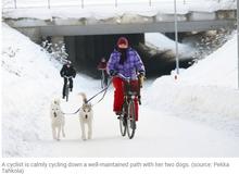 How the Dutch Do Winter Bike Lane Maintenance - Streetsblog