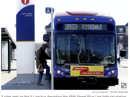 Minneapolis Metro Transit Expands Pilot Including Transit Passes in Apartment Rent - StarTribute