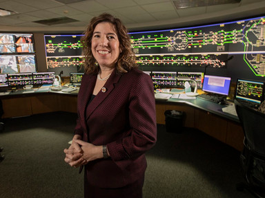 Leslie Richards has taken over as SEPTA's general manager. She's all ears. - The Inquirer