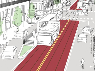The next generation of bus lanes is coming to Greater Boston - Boston Globe