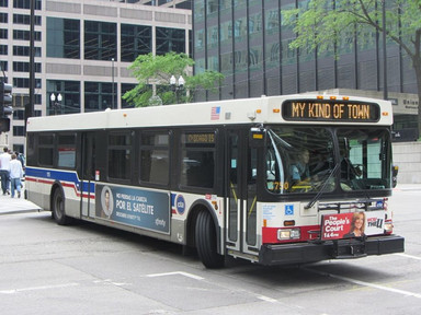 Chicago Advocates Promote the Bus as the Healthy Transportation Option - Next City